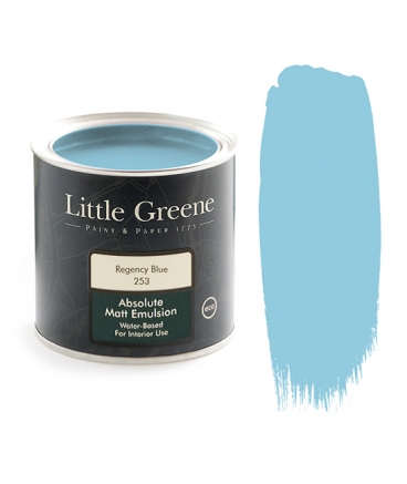 Peinture Little Greene Regency Blue 253