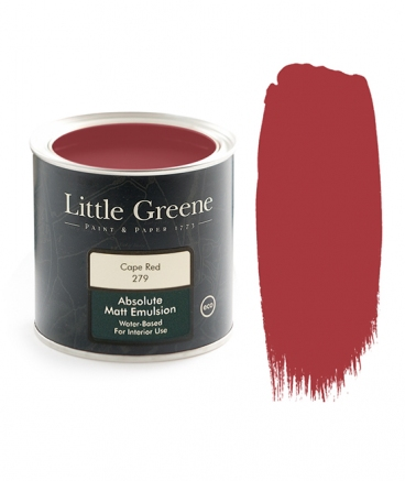 Peinture extra Mat rouge - Little Greene - Cape Red