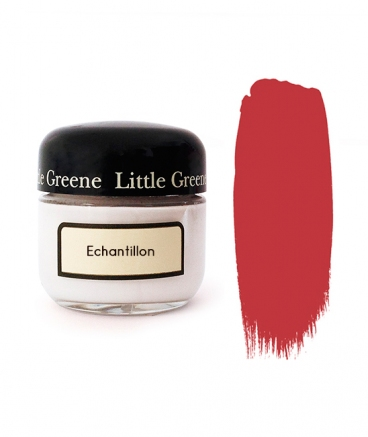 Echantillon peinture Rouge Cape Red