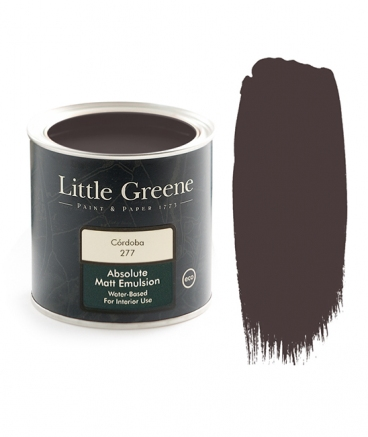 Peinture extra Mat rouge - Little Greene - Cordoba