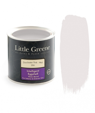 Peinture satiné rose - Little Greene - Dorchester pink mid