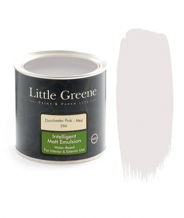 Peinture mat rose Little Greene Dorchester Pink Mid