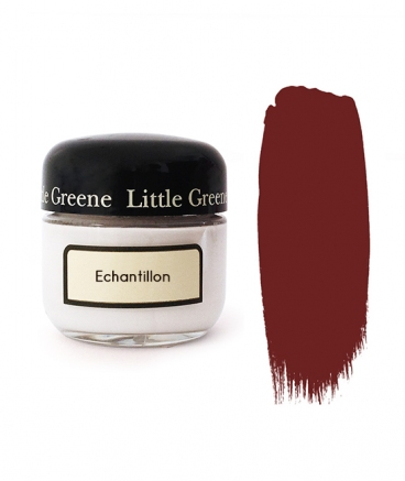 Peinture Little Greene échantillon Bronze Red
