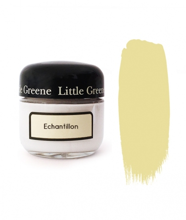 Peinture Little Greene échantillon White Lead Dark