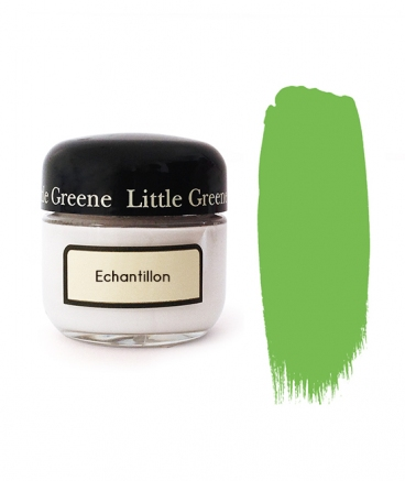 Peinture Little Greene échantillon Phthalo Green