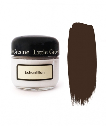 Peinture Little Greene échantillon Spanish Brown