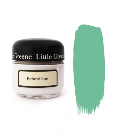 Peinture Little Greene échantillon Green Verditer