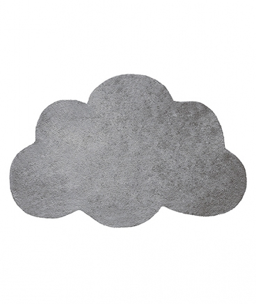tapis nuage coton gris d coration chambre enfant lilipinso. Black Bedroom Furniture Sets. Home Design Ideas
