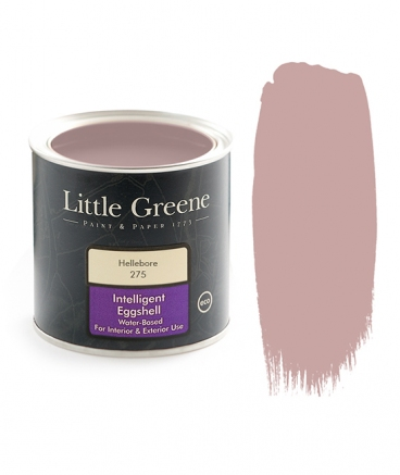 Peinture satiné Little Greene rose Hellebore