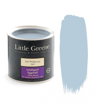 Little Greene Intelligent Eggshell Pale Wedgwoog 249