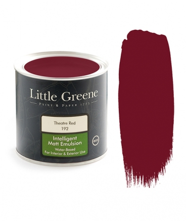 Peinture Little Greene Theatre Red