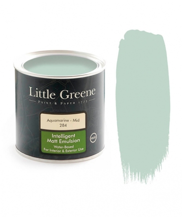 Peinture Little Greene Aquamarine - Mid 284
