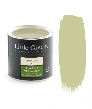Peinture Little Greene Kitchen Green