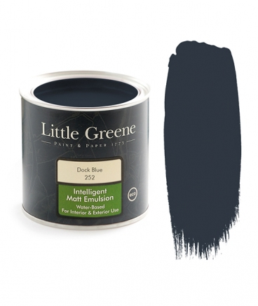 Peinture Little Greene Dock Blue 252