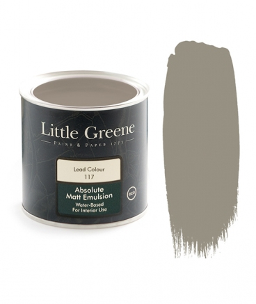 Little Greene Absolute Matt Emulsion Lead Coulor 117