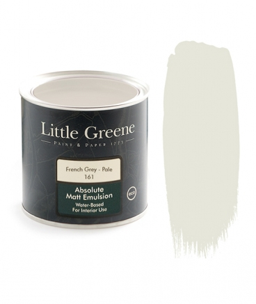 Little Greene Absolute Matt Emulsion French Grey Pale 161