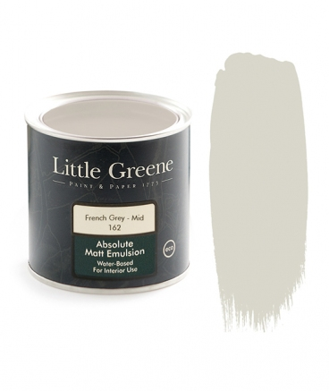 Little Greene Absolute Matt Emulsion French Gray Mid 162