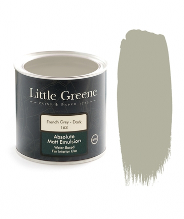 Little Greene Absolute Matt Emulsion French Grey Dark 163