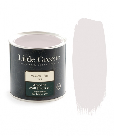Little Greene Absolute Matt Emulsion Welcome Pale 179
