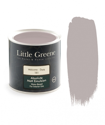 Little Greene Absolute Matt Emulsion Welcome Dark 181