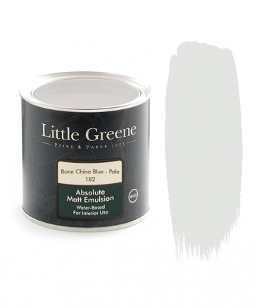 Little Greene Absolute Matt Emulsion Bone China Blue Pale 182