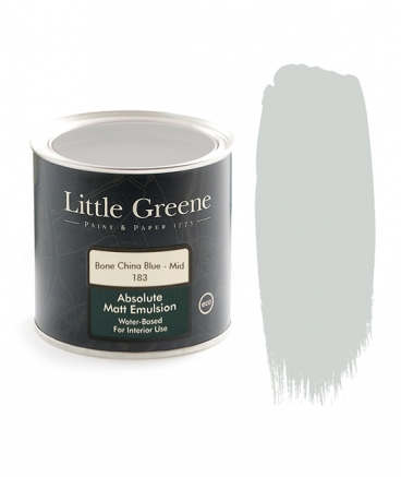 Little Greene Absolute Matt Emulsion Bone China Blue Mid 183