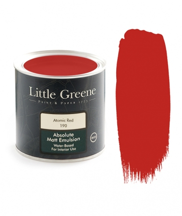 Little Greene Absolute Matt Emulsion Atomic Red 190