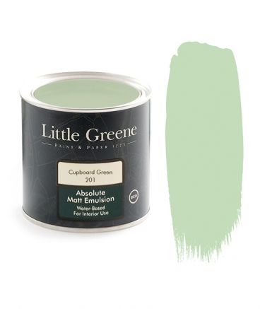Little Greene Absolute Matt Emulsion Cupboard Green 201