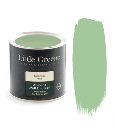 Little Greene Absolute Matt Emulsion Spearmint 202
