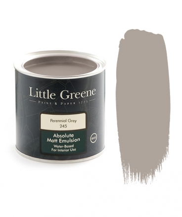 Little Greene Absolute Matt Emulsion Perennial Grey 245