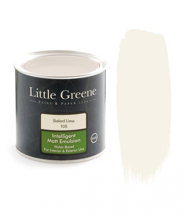 Little Greene Intelligent Matt Emulsion Slaked Lime 105