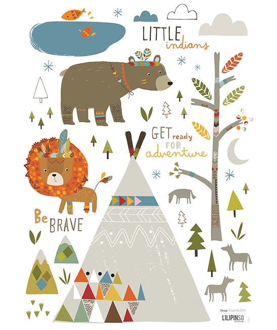 India frances o 39 connor and leon on pinterest - Stickers chambre bebe garcon ...