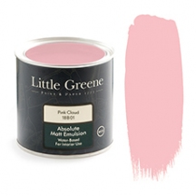 Peinture murale rose - Little Greene Pink Cloud
