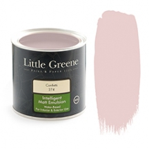 Peinture mat rose Little Greene Confetti