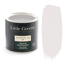Peinture extra mat rose Little Greene Dorchester Pink Mid