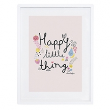 Affiche déco enfant fruits Happy little thing