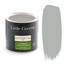 Little Greene Intelligent Matt Emulsion Bone China Blue Deep 184