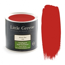Little Greene Intelligent Matt Emulsion Atomic Red 190