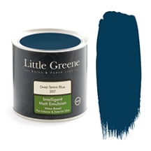 Little Greene Intelligent Matt Emulsion Deep Space Blue 207