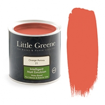 Little Greene Intelligent Matt Emulsion Orange Aurora
