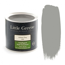 Little Greene Intelligent Matt Emulsion Urbane Grey 225