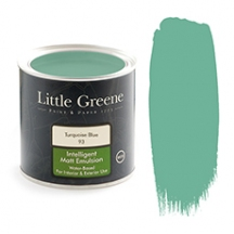 Little Greene Intelligent Matt Emulsion Tuquoise Blue 93