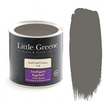 Little Greene Intelligent Eggshell Dark Lead Colour