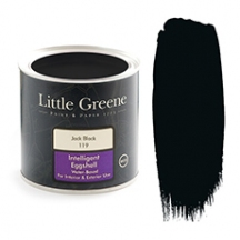 Little Greene Intelligent Eggshell Jack Black 119