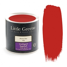 Little Greene Intelligent Eggshell Atomic Red 190
