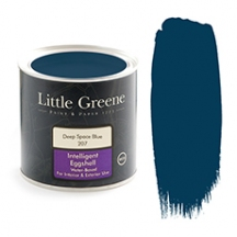 Little Greene Intelligent Eggshell Deep Space Blue 207