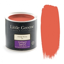 Little Greene Intelligent Eggshell Orange Aurora