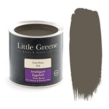 Little Greene Intelligent Eggshell Grey Moss 234