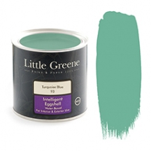 Little Greene Intelligent Eggshell Tuquoise Blue 93