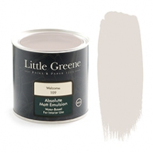 Little Greene Absolute Matt Emulsion Welcome 109